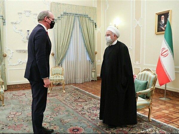 روحانی: فعال شدن برجام منوط به لغو تحریم ها از سوی آمریکا و ایفای تعهدات کامل همه اعضا است