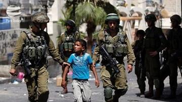 رژیم صهیونیستی ۲۳۰ کودک فلسطینی را بازداشت کرد