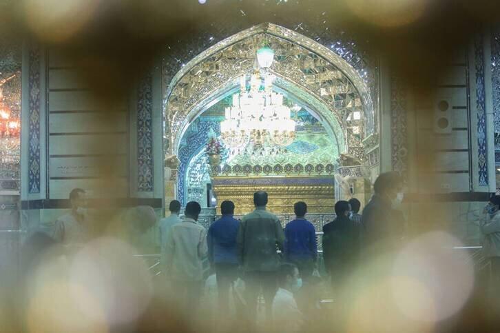 ماه مبارک رمضان در حرم حضرت معصومه