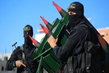 مقاومت فلسطین از موشک «قاسم» رونمایی کرد