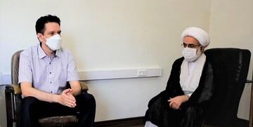 تشرف یک مسیحی به دین اسلام در حوزه مروی