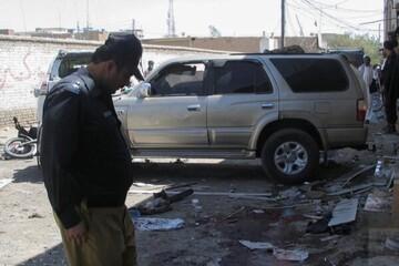 با انفجار بمب در شهر مرزی پاکستان ۶ تن کشته شدند