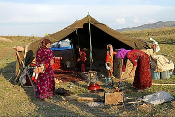 ۴۰ درصد فرش صادراتی کشور را زنان عشایر تولید میکنند