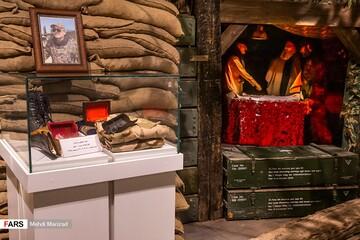اهدای وسایل شهید سیدمصطفی بدرالدین به موزه شهید سلیمانی