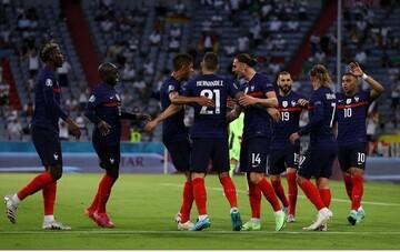 فرانسه برنده جدال مدعیان؛ شکست آلمان با یک گل به خودی
