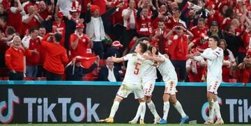 یورو 2020| صعود دراماتیک دانمارک با تحقیر روسیه / بلژیک مقتدرانه صدرنشین شد