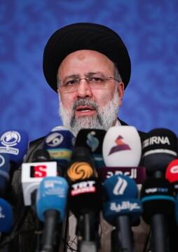 نشست خبری حجت الاسلام رئیسی رئیس جمهور منتخب