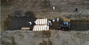 آمار تلفات کرونا در آمریکا به بیش از 1000 نفر در روز رسید