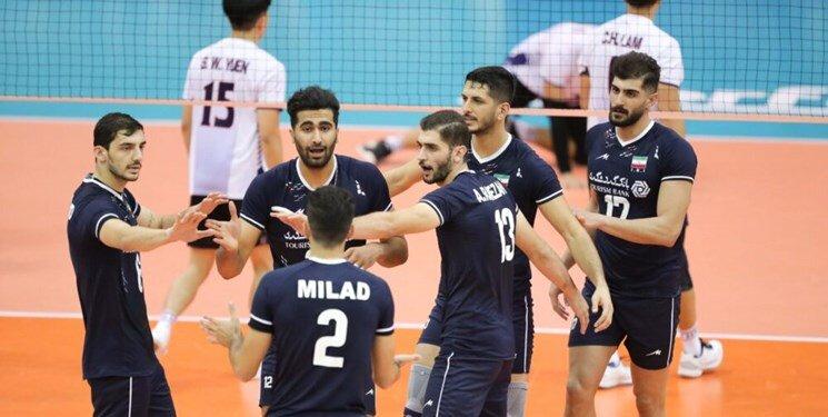 والیبال قهرمانی آسیا| ایران با اقتدار بر بام قاره کهن ایستاد