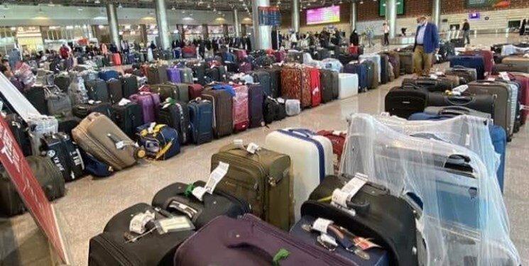 حضور بیسابقه زوار خارجی در فرودگاه نجف/ کسی تست PCR و کارت واکسن نمیخواهد! +عکس